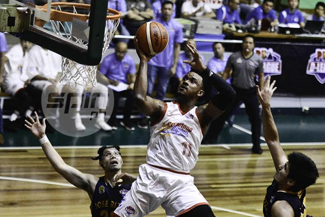 Marinerong Pilipino rips JRU for fifth straight win, gains share of second place