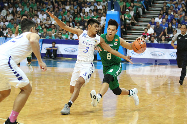 Brent Paraiso eager to move forward with UST after 15 years with La Salle