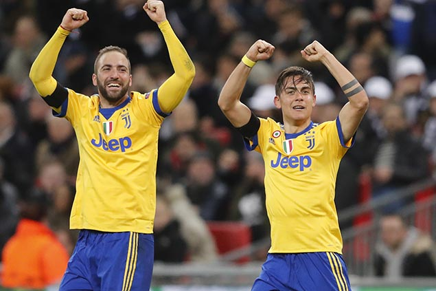 Juventus takes Serie A lead as Napoli held to draw by Inter Milan
