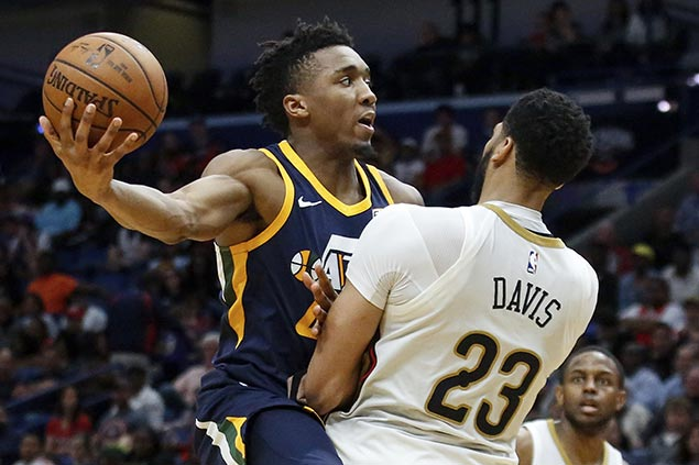 Jazz take down Pelicans to spoil Anthony Davis triple-double in return from injury