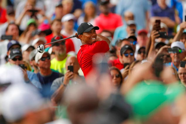 Sunday viewing infinitely more divine as Tiger Woods makes comeback of the ages