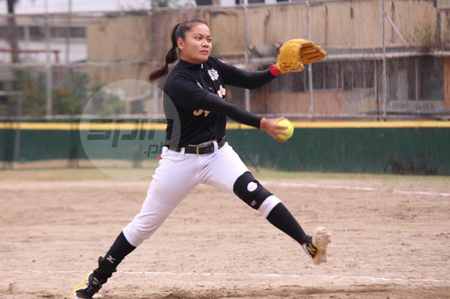 Tigresses ride four-run third inning to beat Lady Falcons in opener of UAAP softball title series