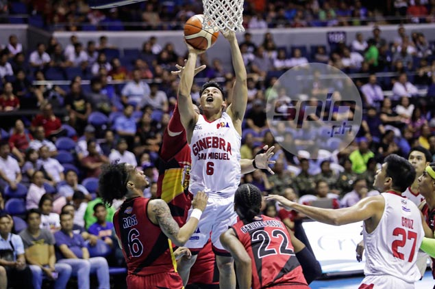 Thompson stakes claim to being PBA's best rebounding guard. But Cone expects more