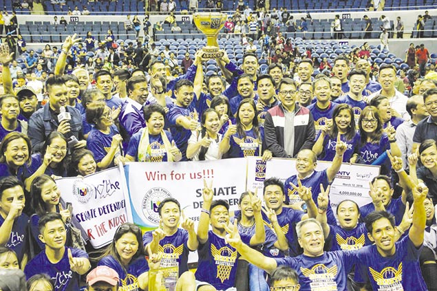 Senate Defenders complete finals sweep of Malacanang for maiden UNTV Cup title