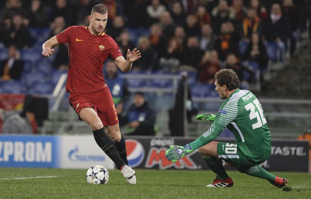 Roma overcomes poor start to nip Shakhtar and gain Champions League quarterfinals
