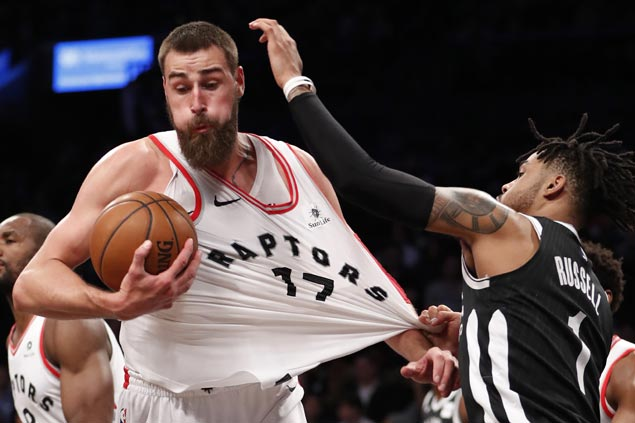 East-leading Raptors rip Nets for franchise record-tying seventh straight road win