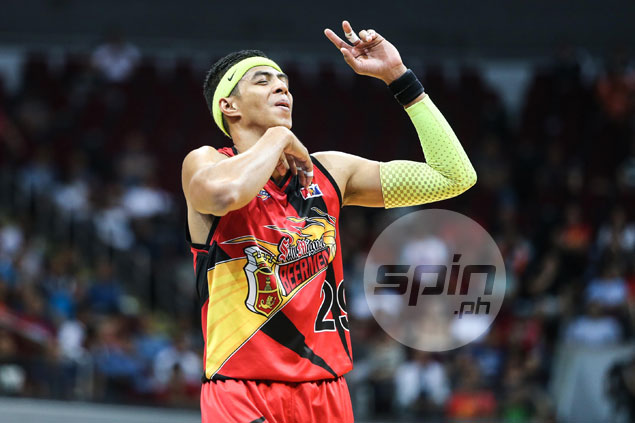 Arwind Santos summoned by PBA for 'lima nagiging walo' comment after SMB loss