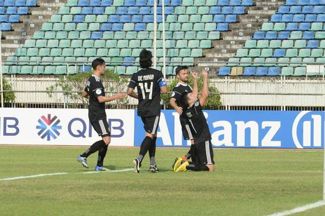 Ceres piles up points in AFC Cup group stage with one-goal win over Shan United