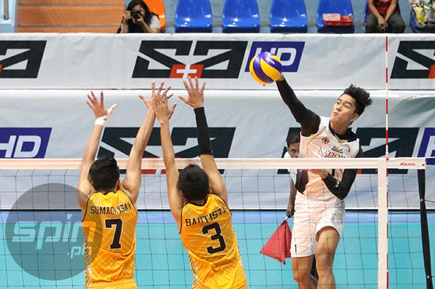 NU, Ateneo sweep separate foes to remain on top in UAAP men's volleyball