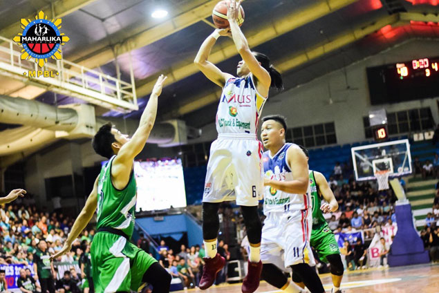 Cavite 'ligang labas' hero Ian Melencio seizes opportunity of a lifetime in MPBL