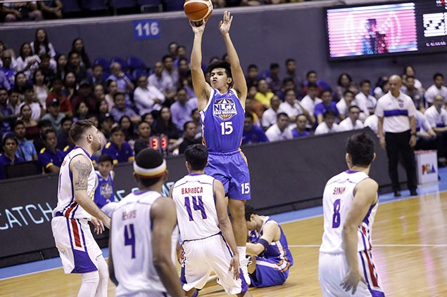 Rookie jitters hit Kiefer Ravena after missing crucial free throws in NLEX's Game 3 loss