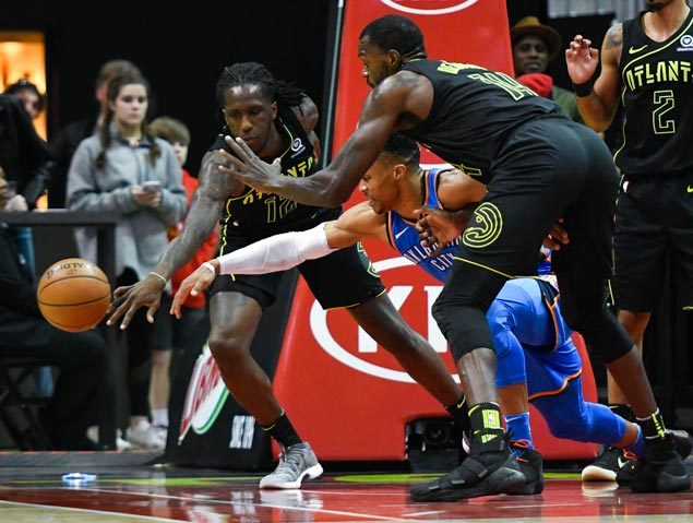 Russell Westbrook Makes Nba History together with Highlights Russell Westbrook Breaks Nba Triple Double Record Hits Game Winning Buzzer Beater further Air Jordan Xxxi 31 Why Not Pe also 9 in addition Russell Westbrooks Game Winner. on russell westbrook oscar robertson