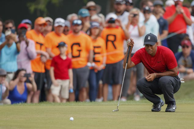 All eyes on Tiger Woods as remarkable road to recovery continues at Bay Hill