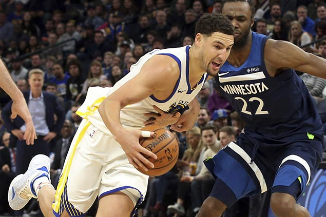 Curry aching to play for depleted Warriors as Thompson out at least a week with thumb injury