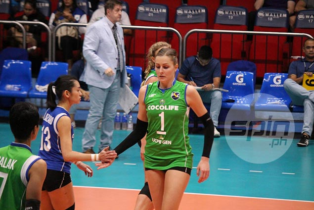 Cocolife import Sara Klisura vows to double her efforts as 38-point explosion falls short vs Petron