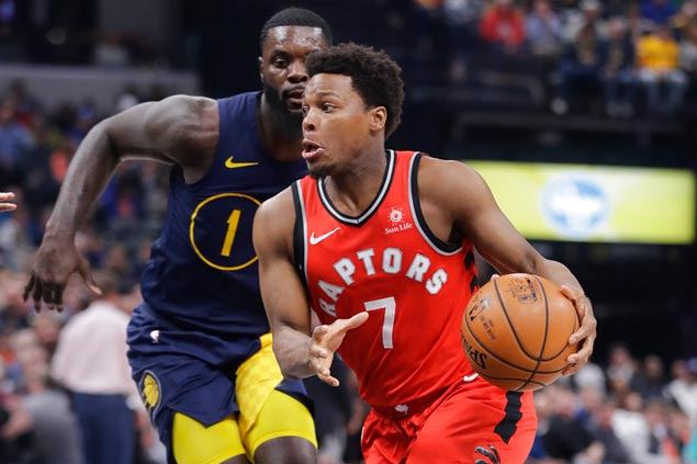 Raptors make it a perfect 10 as DeRozan, Miles lead late fightback vs Pacers