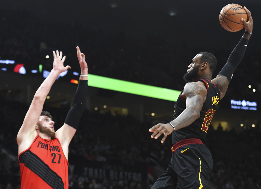 Blazers make it 11 successive wins as LeBron-led Cavs comeback falls short yet again | SPIN.ph
