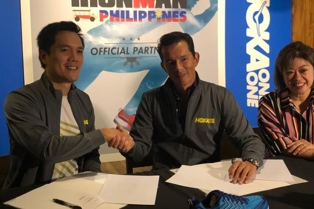 Ironman Philippines signs deal making Hoka One official shoe of first full-distance race