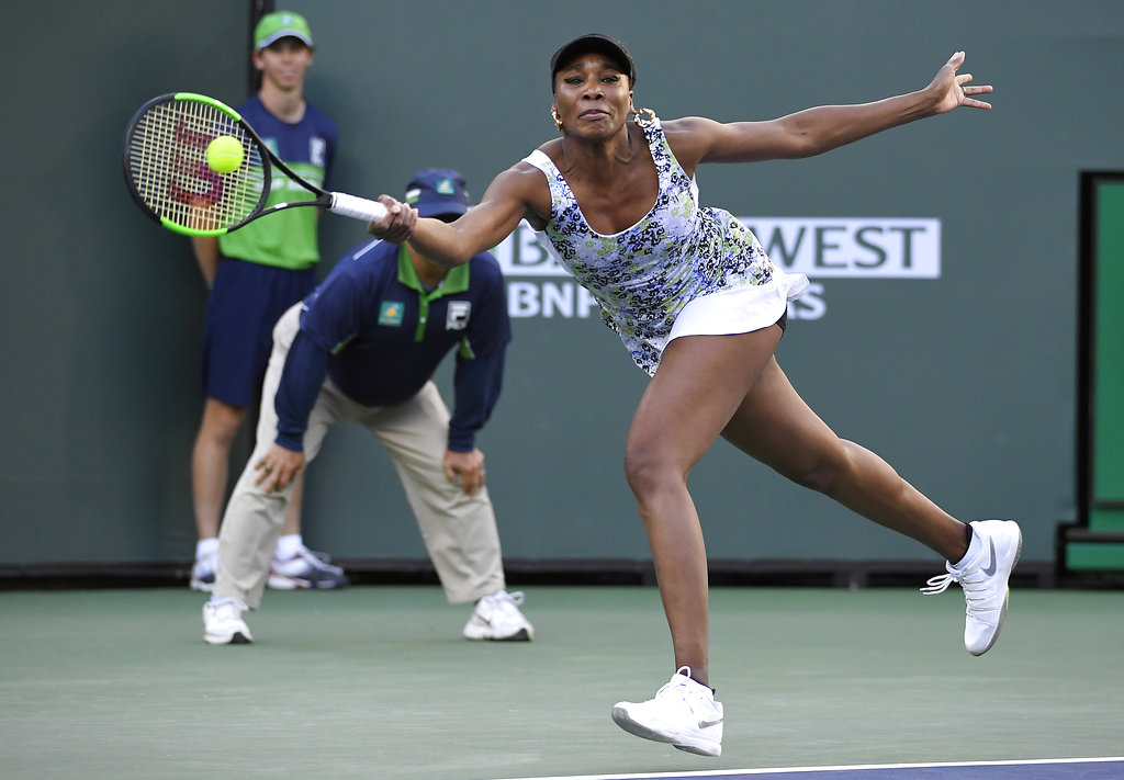 At 37, Venus Williams is two wins away from first career title at Indian Wells