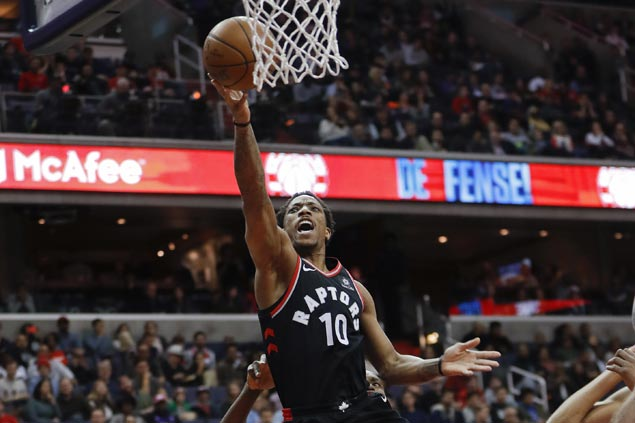 DeMar DeRozan rallies Raptors past Mavericks for overtime win to extend streak to 11