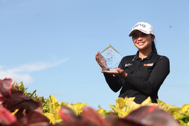 Princess Superal ends two-year title drought with LPGT record 16-stroke victory at Highlands