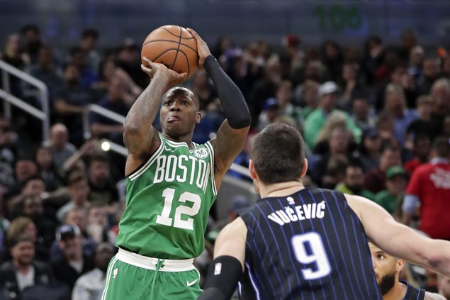 Rozier, Monroe star as Kyrie-less Celtics end two-game slide with win over Magic