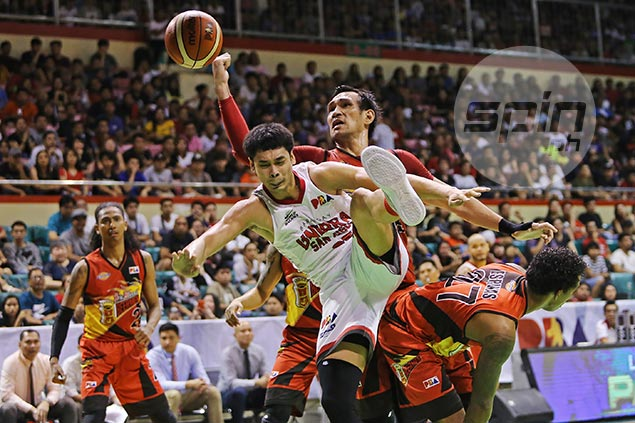 San Miguel holds off gritty Ginebra to book fourth straight trip to Philippine Cup finals
