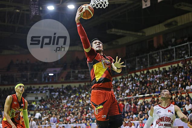June Mar Fajardo earns Player of the Week nod for leading SMB's fourth straight trip to PH Cup finals