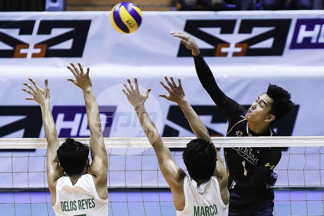 Bryan Bagunas shows way as NU survives tough challenge from La Salle to stay on top