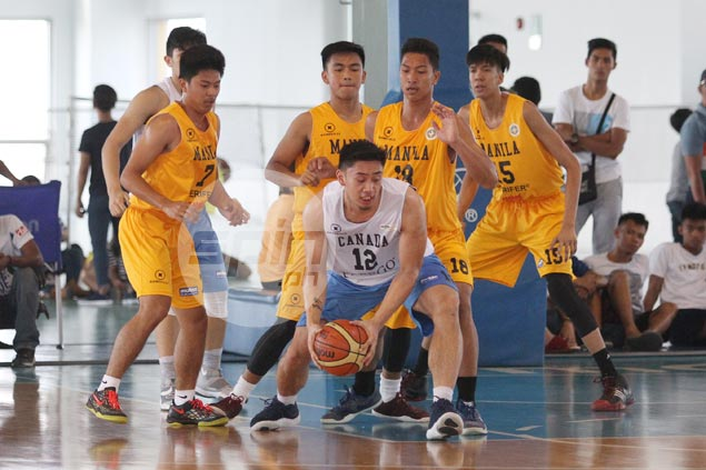 Fil-Canadian squad beats Letran to secure No. 11 seed in NBTC knockout phase