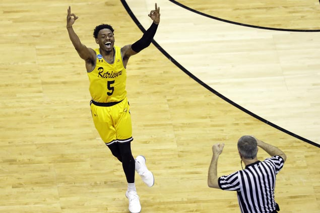 UMBC eyes another upset, place in Sweet 16 as Retrievers take on No. 9 Kansas State Wildcats