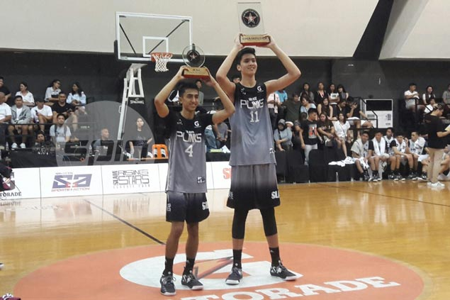 Kai Sotto, Evan Nelle named co-MVPs in Slam Rising Star Classic overtime thriller