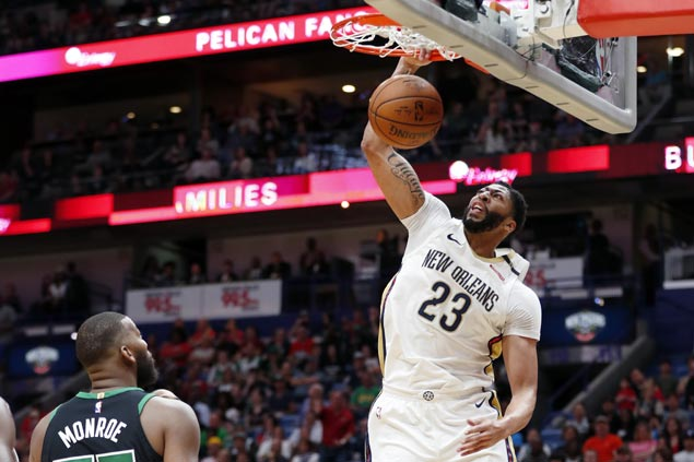 Pelicans catch fire in fourth, beat Boston side missing Kyrie Irving and Marcus Smart