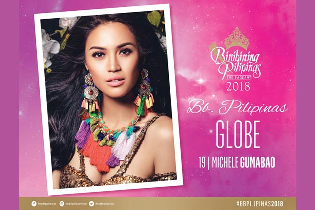 Gumabao is Bb. Pilipinas Globe; Simon fiancee Huelar is Bb. Pilipinas Supranational