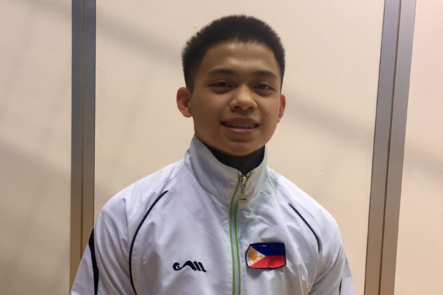 Gymnast Carlos Yulo priming up for Tokyo Olympics after silver-medal finish at World Cup