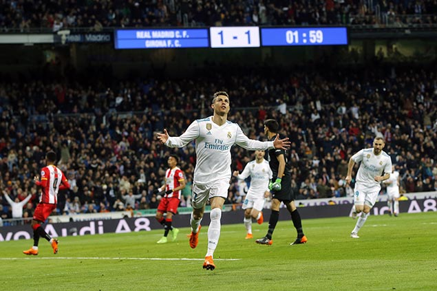 Cristiano Ronaldo in hot pursuit of Lionel Messi as La Liga scoring race heats up