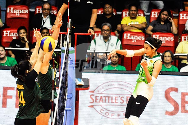 Kim Dy steps up her game to keep La Salle on top and bags UAAP Player of the Week honors