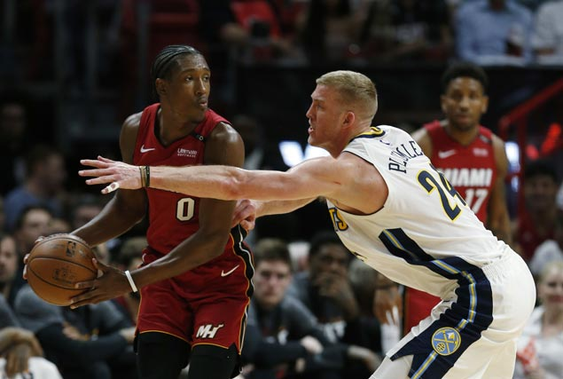 Heat set franchise scoring record with double overtime win over Nuggets