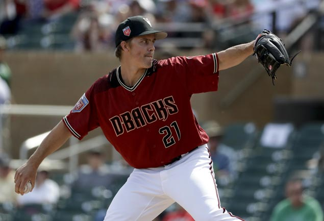 D-backs not rushing Zack Greinke, scratches ace from season opener
