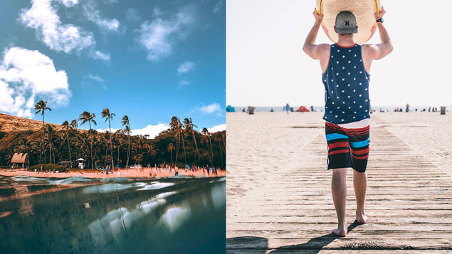 Find the perfect kind of board shorts that suits your summer style