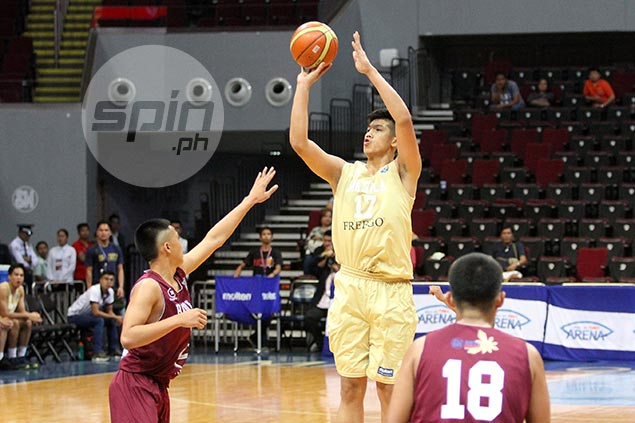 Gilas prospect Carl Tamayo leads NU romp over Bacolod Tay Tung High School in NBTC tilt