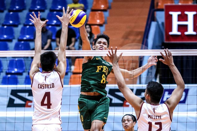 FEU Tams beat UP Maroons in straight sets, secure at least a playoff for semifinal spot