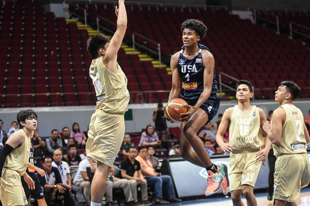 NU Bullpups survive 51-point explosion from Jalen Green to reach NBTC semis
