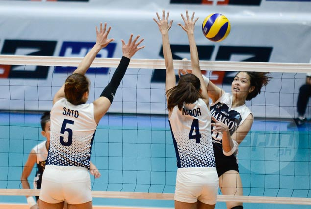 Adamson Lady Falcons score second straight win, deal NU Lady Bulldogs third consecutive loss