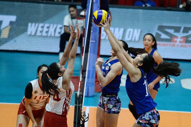 Ateneo Lady Eagles beat UE Lady Warriors to stretch win streak to three