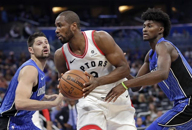 DeRozan-less Raptors overcome poor start, use tough defense in fourth to beat Magic