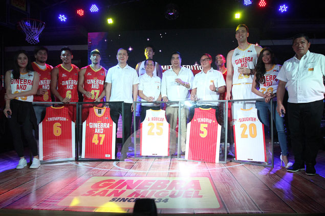 Caguioa back to No. 47 as new 'Ginebra Ako' jerseys shows resemblance to 90s-era kit