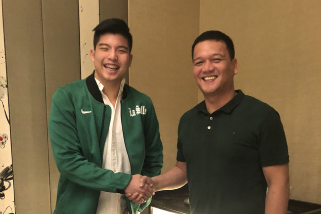 Former Ateneo juniors player Joaqui Manuel seals move to La Salle