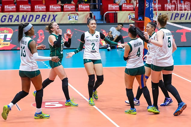 Sta. Lucia eyes strong first-round finish with tough clash vs Foton in PSL Grand Prix