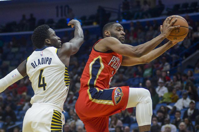 Pelicans outlast misfiring Pacers for third straight win